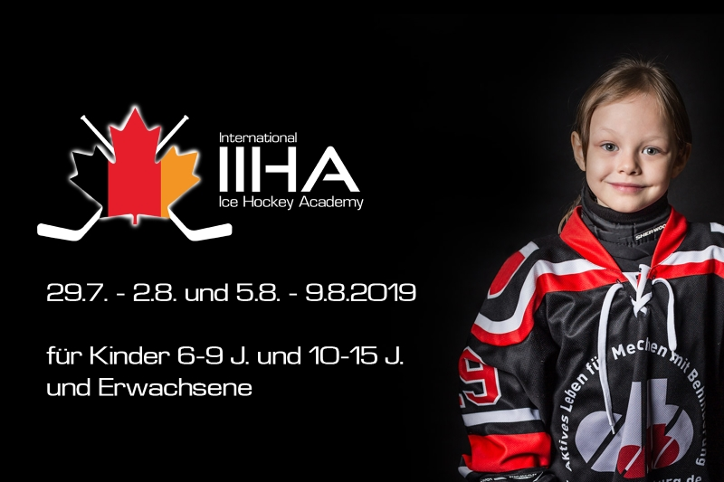 Peter Flache's IIHA - International Ice Hockey Academy 2019 - Kooperation mit dem EV Regensburg und Förderverein